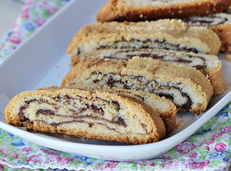 biscotti with nutella