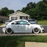 Image result for 2002 vw beetle lowered