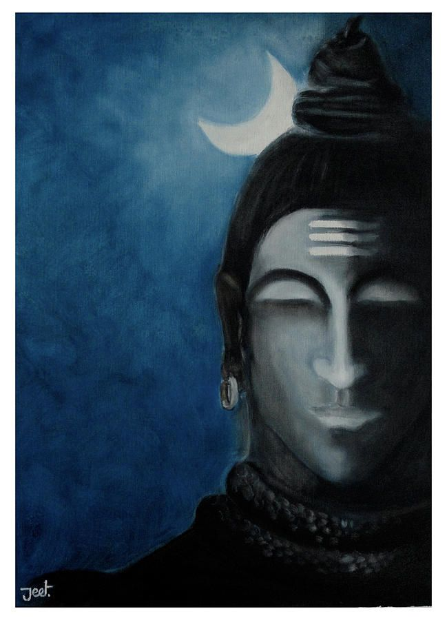 oil painting shiva - Google Search