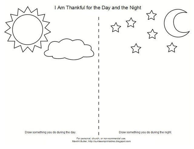i am thankful for god coloring pages - photo #34