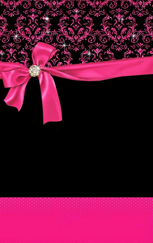 fond d233cran pink black papel de parede pinterest