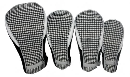 Timeless Noir Taboo Fashions Ladies Golf Club Headcovers (4-Pack Set). More golf essentials at #lorisgolfshoppe