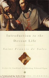 """An Introduction to the Devout Life (book review).  This great book writing by a saint for a saint is a road map of sorts for leading a life devoutly as a Christian.  Thought written some 400 years ago, this book is as applicable today as it was when it was first written as God transcends time and so do these """"rules"""" we must live by to love, praise, and worship Him."""