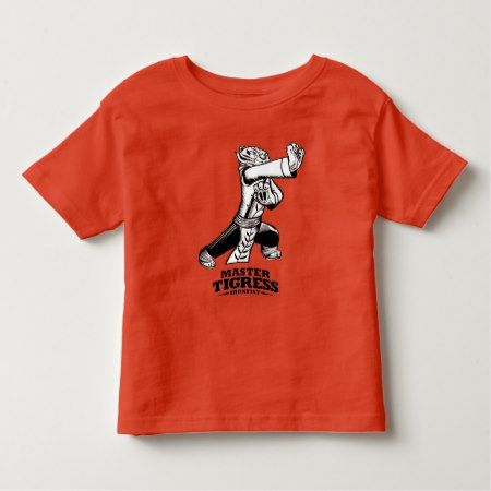 Master Tigress Ironfist Toddler T-shirt - click to get yours right now!