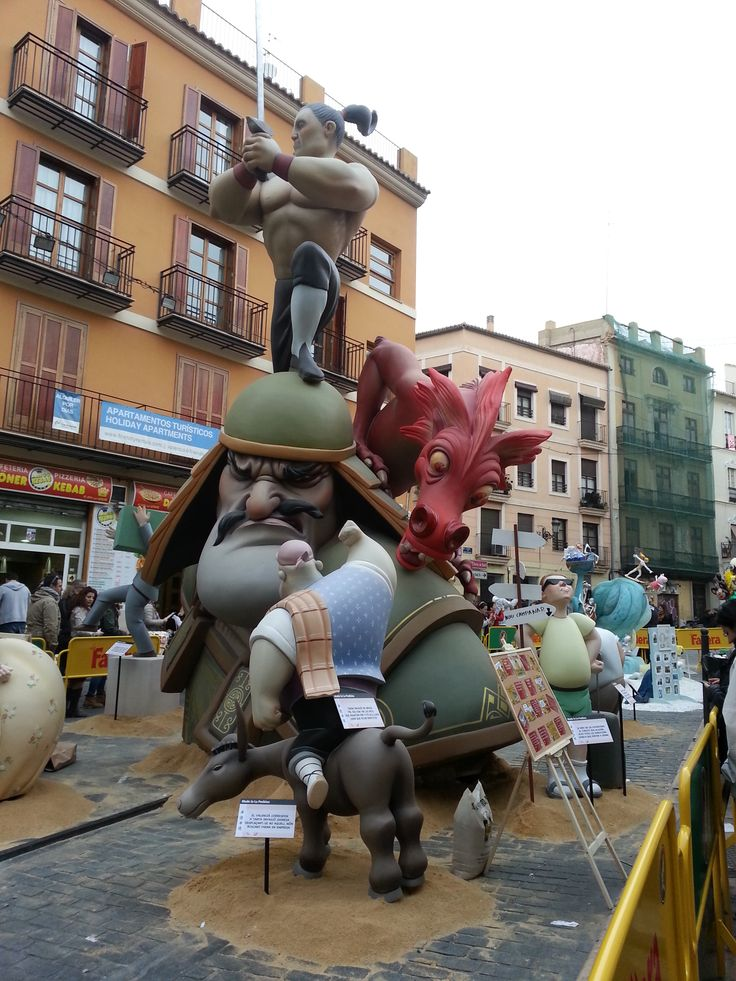 Fallas March 2015 Valencia - Spain