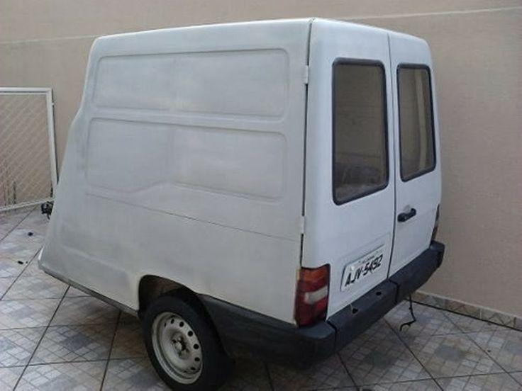 Fiat Fiorino Furgão - Carreta Reboque (3/4)