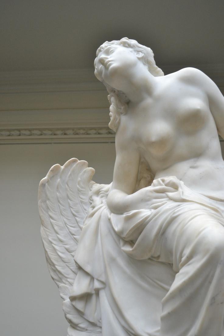 sculpture in the Bella Artes Museum, Santiago