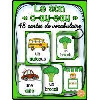 "Le son ""o"" - 48 cartes de vocabulaire"