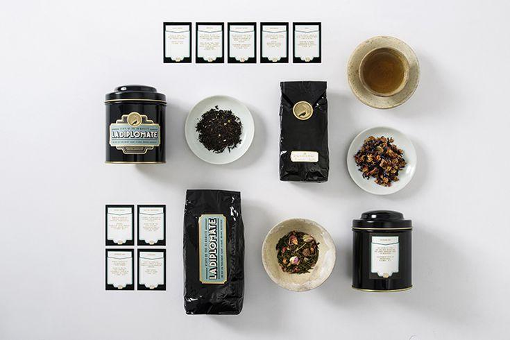 Tea: La Diplomate Packaging