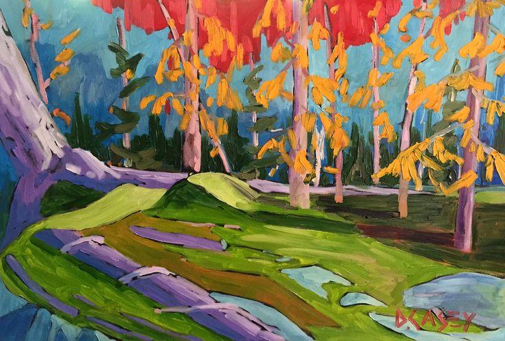 The Change by David Casey. Ottawa artist, Canadian artist, landscape art, SANTINI GALLERY.