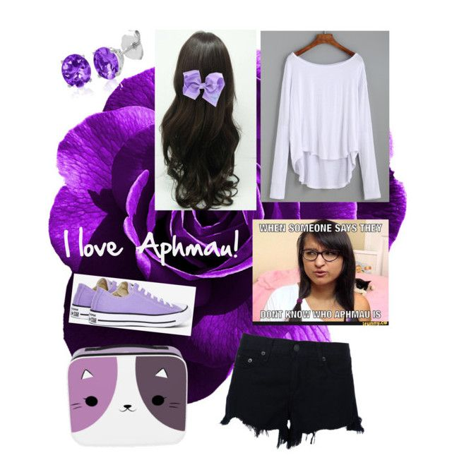 """""""I love Aphmau!!"""" by creepaqueen on Polyvore featuring rag & bone, Converse and Belk & Co."""
