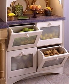 Drawer Storage for the Kitchen | Columbia CabinetWorks