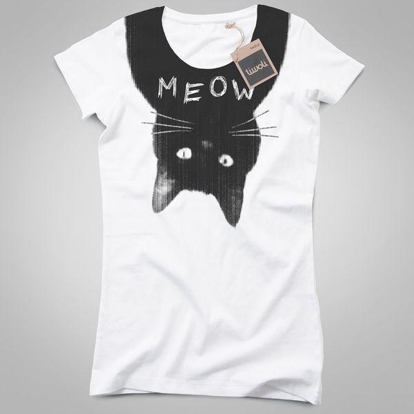 #niezchinzpasji  koszulka damska MEOW w TIWOLI na DaWanda.com