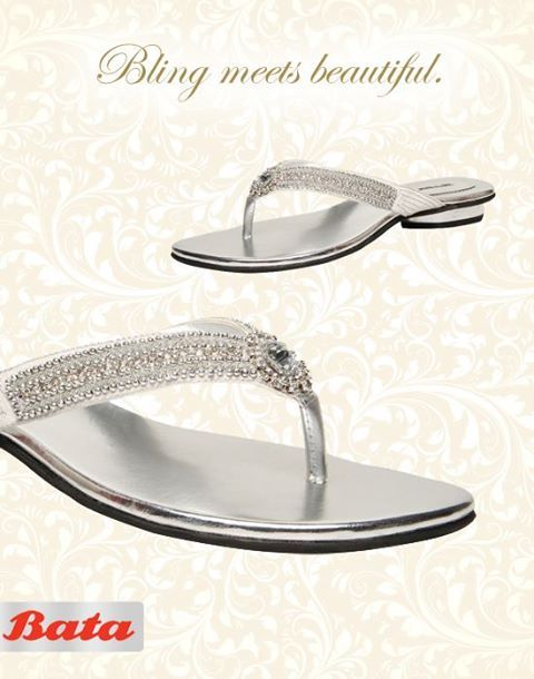 Girls, these sandals are perfect for every part of the wedding. From the sangeet to the reception, these beauties will win you extra compliments. #BataWeddingFever