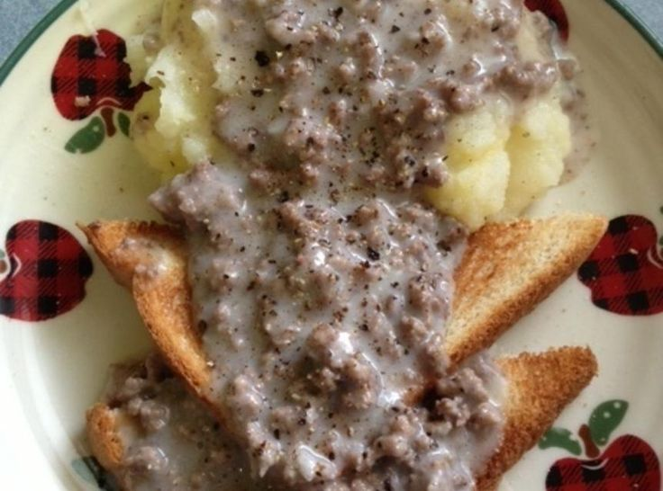 This easy-to-make dish comes from Depression cooking, where a little meat could be stretched to feed & fill up a lot of people, and from the United States military, for the same reason. As a Navy Brat born to Depression Era parents, it's a given that this dish would be on our table! If you prefer the Chipped Beef version, cut the dry beef into small pieces. Make a roux from butter, flour, and milk, then add the chipped beef pieces after it thickens. For those who weren't milit...