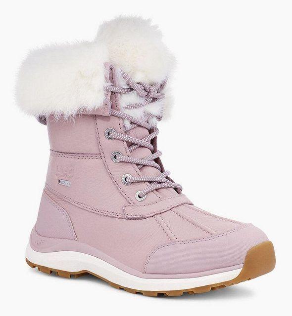 Adirondack Boot Iii Fluff Snowboots Mit Trendigen Fellimitat Besatz Stiefel Winterschuhe Und Ugg
