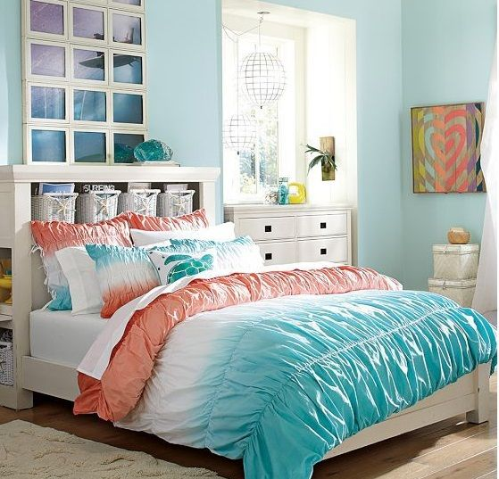 Best 25 beach theme bedrooms ideas on pinterest beach - Beach themed bedroom for teenager ...