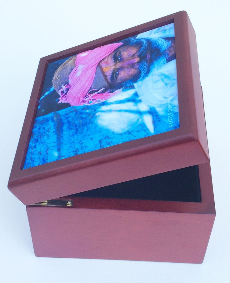 Use your latest holiday image and create a treasure box. Beautiful gift for family and friends.