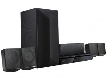 Home Theater LG LHB625M Blu-Ray 3D 1000W RMS - 5.1 Canais HDMI c/ Conexão Bluetooth Wireless USB