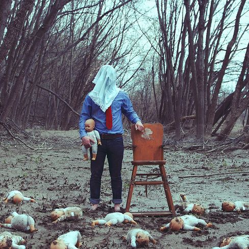 Christopher McKenney's ghostly photography warps reality.