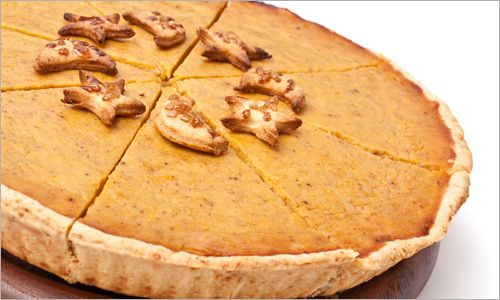 Holiday Pumpkin Pie with Almond Crust. Very popular recipe  #healthy #desserts #pie #pumpkin #paleo #cleaneating #recipes #grainfree #grainless #flourless #maximizedliving