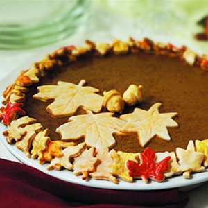 Not-So-Cookie-Cutter Pumpkin Pie