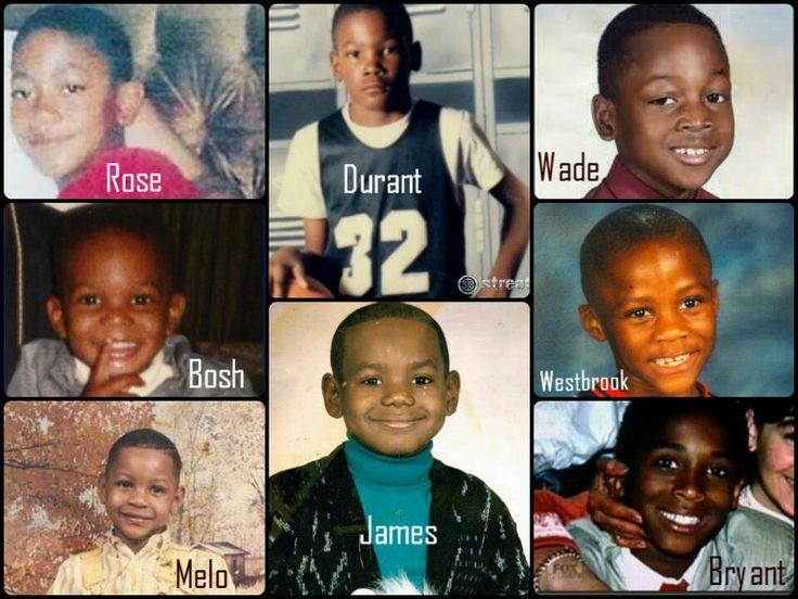 Nba stars as kids   Sports   Pinterest   Nba stars, Kid ...