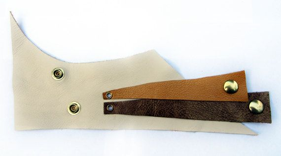 Three colors leather bracelet by artispartem on Etsy, $27.00