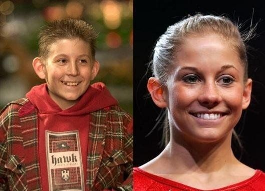 Shawn Johnson and Dewey from Malcom in the middle are the same person! oh my gosh.. I'm dying.