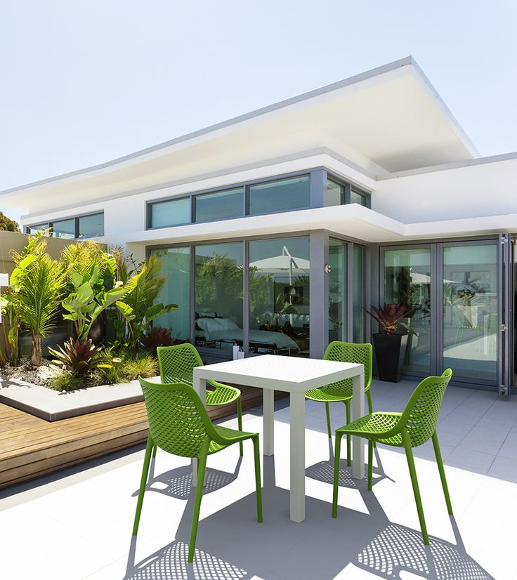 You won't be able to leave this balcony. [Siesta Exclusive | Contract Collection | AIR Chair]