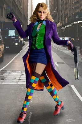 Figura chica Joker, Batman The Dark Knight 2.0. 28 cm, Wolfking Foto 1