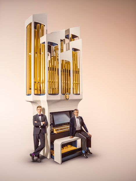 Flavour Conductor Organ by Bompas and Parr for Johnnie Walker Blue Label