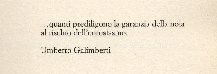 Umberto Galimberti.