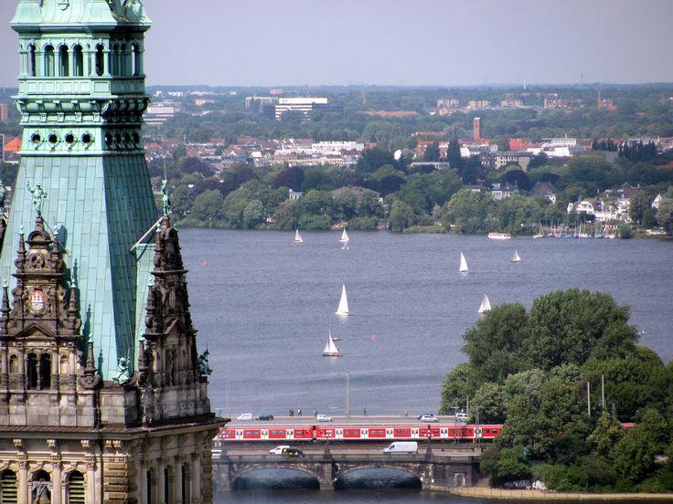 Die Alster – Außenalster in Hamburg