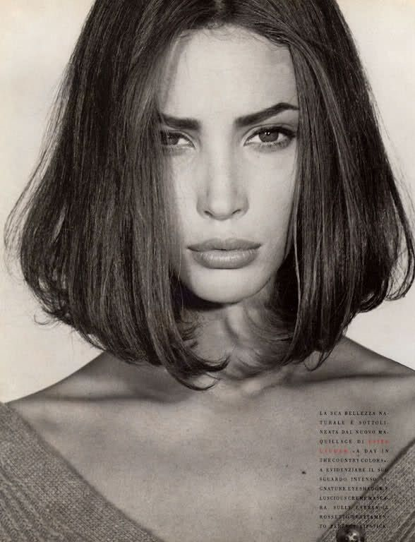 Super Christy TurlingtonBobs Haircuts, Bobs Hairstyles, Shorts Hair, Steven Meisel, Christy Turlington, Christyturlington, Beautiful, Hair Bob, Long Bobs