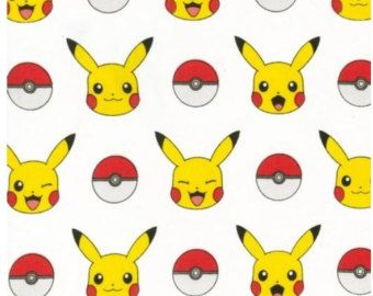 Pokemon fabric
