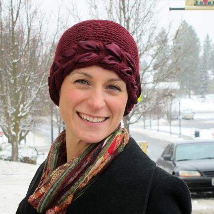 Knit Hat Patterns Cancer Patients : 17 Best images about Chemo head coverings on Pinterest ...