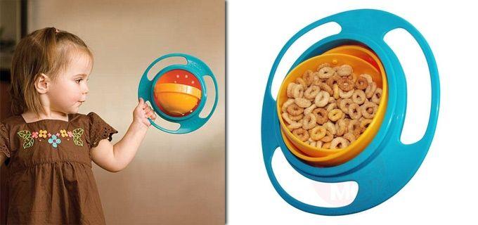 LiveDeal | ΠΡΟΣΦΟΡΕΣ αθήνα | Deal - 6,50€ από 14€ για το Πρωτότυπο Μπολ Φαγητού για Μωρά και Παιδιά Universal Gyro Bowl, που περιστρέφεται 360 μοίρες ώστε το φαγητό να μην πέφτει, αφού η πλευρά με το φαγητό κοιτάζει πάντα προς τα πάνω, με παραλαβή από το κατάστημα Magichole.com.gr στο Παγκράτι ή με αποστολή σε όλη την Ελλάδα!