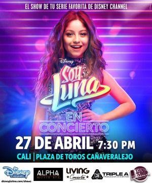 Soy Luna - Cali | ticketshop.com.co