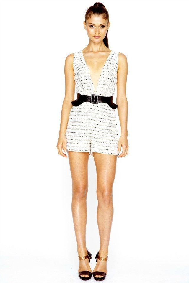 Talulah Hollywood Glamour Playsuit AUD$220.00 available at www.carouselbondi...