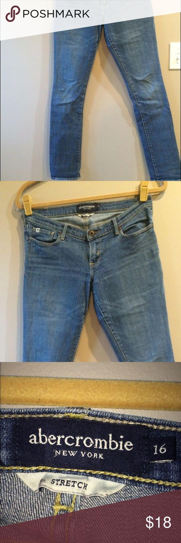 Abercrombie girls skinny jeans Girls Abercrombie kids skinny jeans abercrombie kids Bottoms Jeans