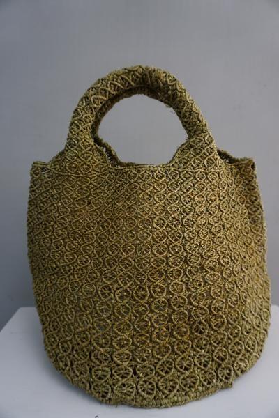 Sophie Digard Olive Grove Rafia Bag