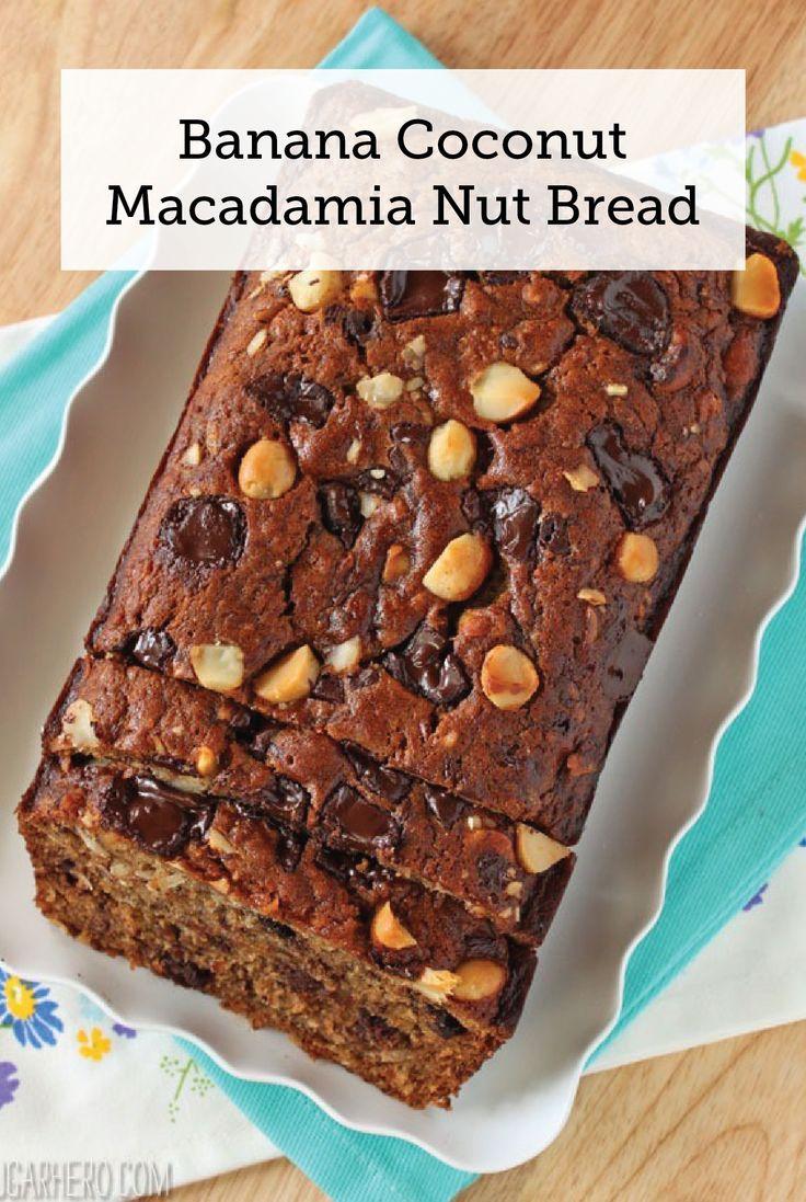 banana coconut macadamia nut bread nut recipes banana recipes bread ...
