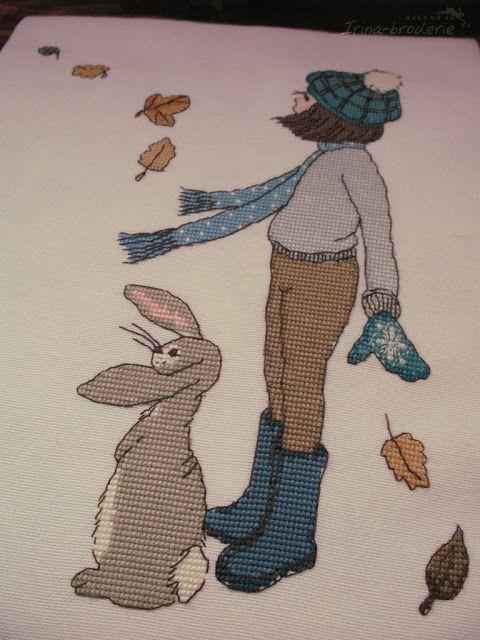 "http://irina-broderie.blogspot.com Pieces of autumn Designed by: Belle & Boo ""Pieces of autumn""."