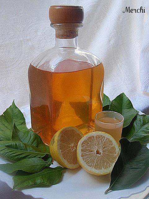 Con sabor a canela: Limoncello (licor de limón)