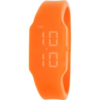 Verb Women's VRB007S Orange Silicone Digital Watch