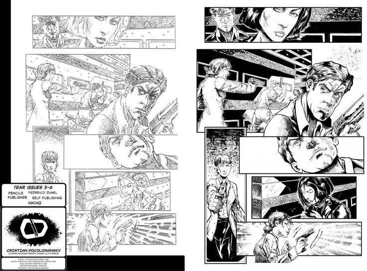 Tear Issue 06 Page 26 by Docolomansky on DeviantArt