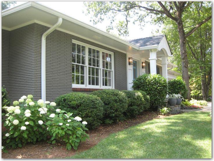 front door colors brick house - Google Search