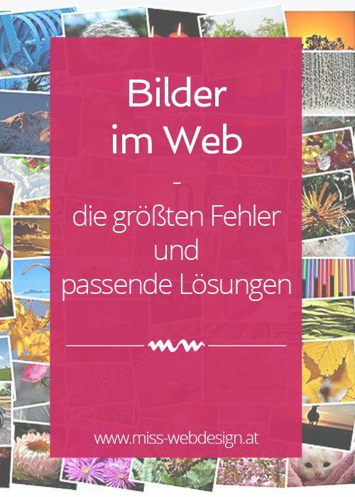 Bilder im Web - Fehler und Lösungen   www.miss-webdesign.at