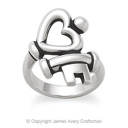key to my heart ring jamesavery
